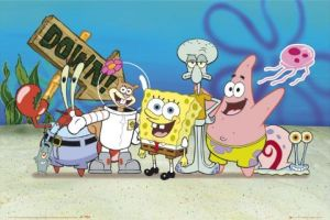 Awas Sponge Bob And Friends